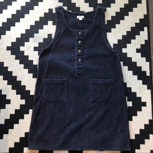 Christopher & Banks Corduroy Jumper Dress Size L